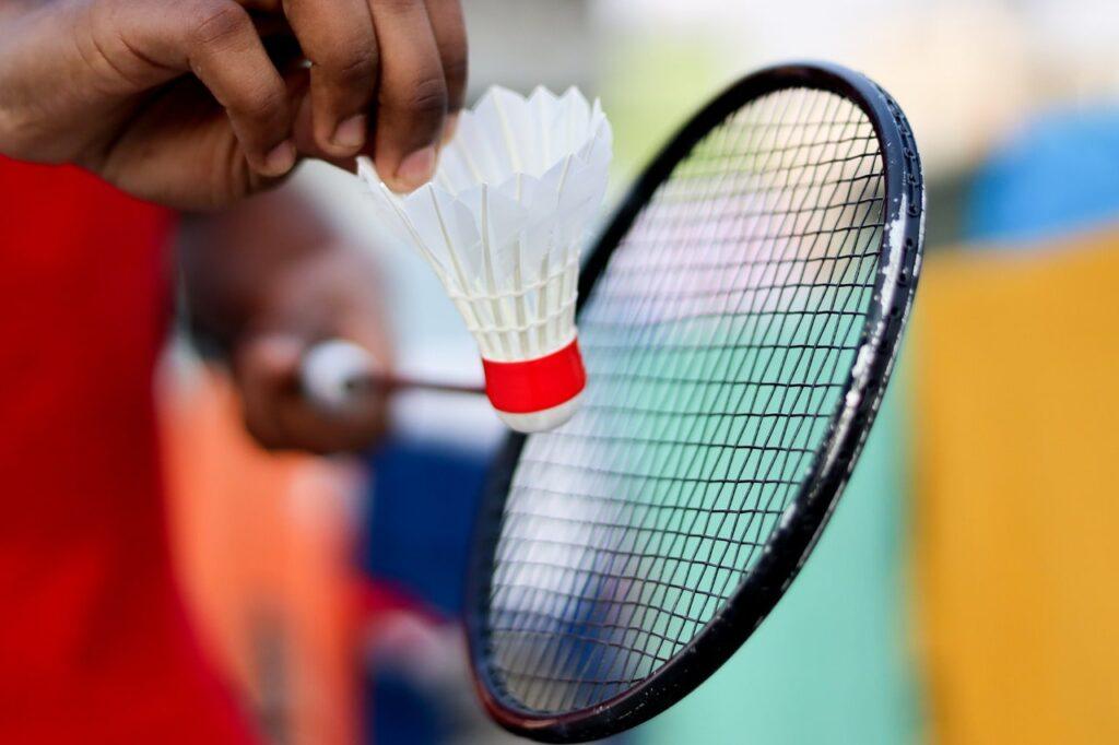 corder raquette badminton