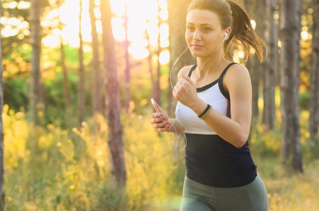 écouteurs pour faire du running