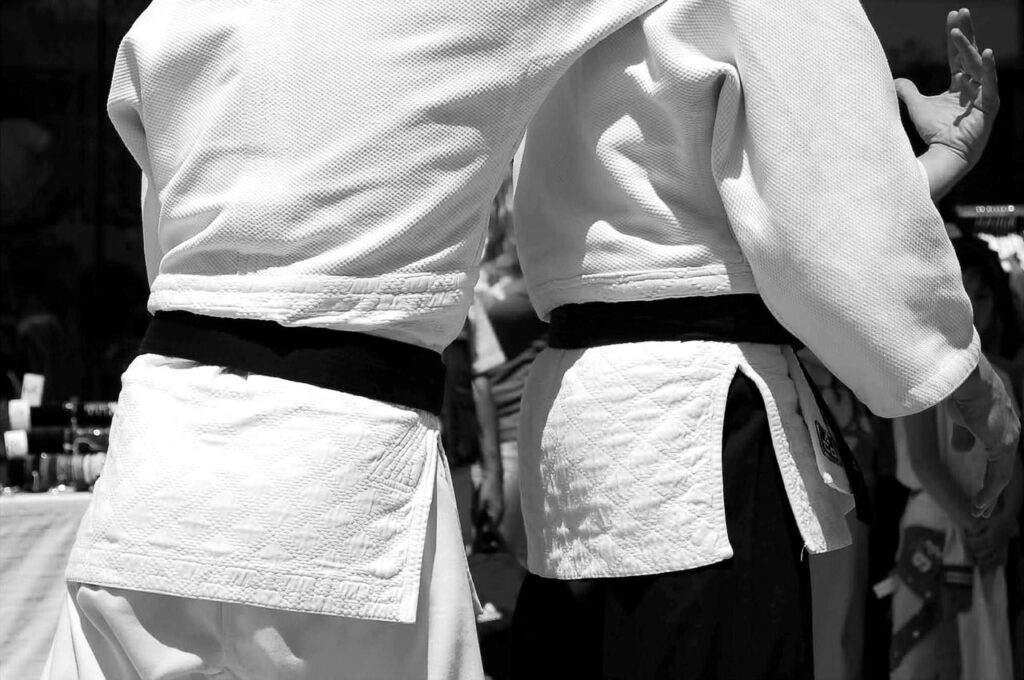 noeud ceinture judo