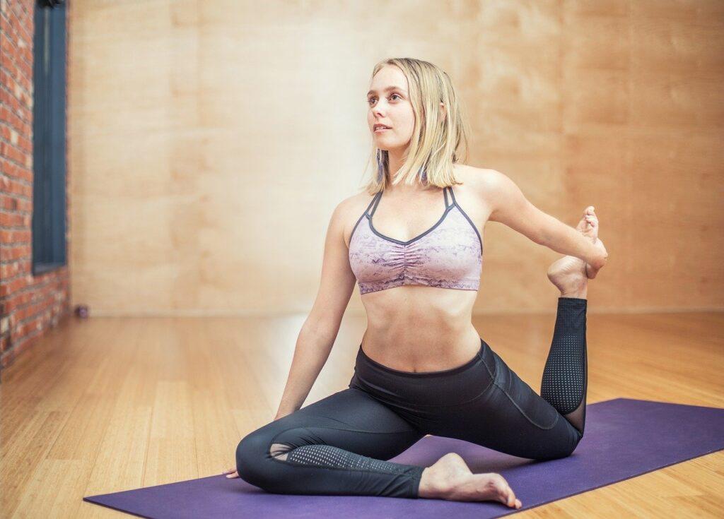 tapis éco pour yoga