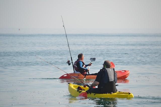 équipement pour bien pécher en kayak de mer