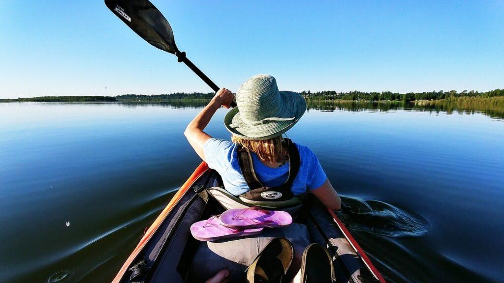 pécher avec kayak de mer